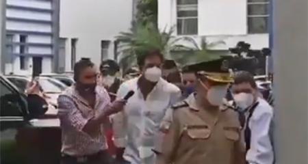Carlos Luis Morales, Prefecto del Guayas, es detenido