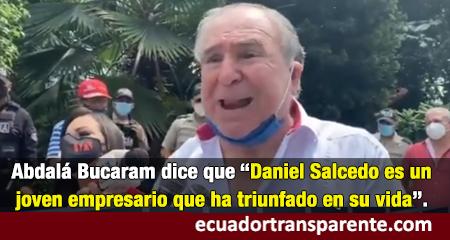 Abdalá Bucarám defiende a Daniel Salcedo (Video)