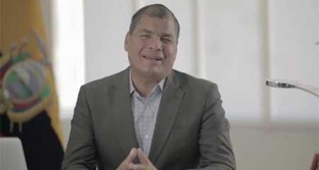 Correa solicita a Tribunal seguir cobrando la pensión vitalicia de expresidente