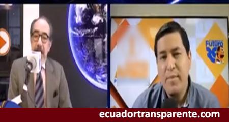 Andrés Arauz queda mal ante pregunta de periodista Jorge Ortíz
