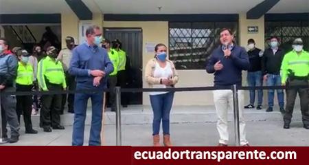 Andrés Arauz realizó proselitismo político (prohibido por ley) en colegio de Quito