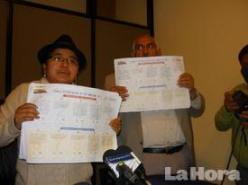 Papeletas marcadas con el NO, encontradas en un basurero de Cotopaxi