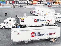 Cuestionan inversión y utilidad de hospital móvil