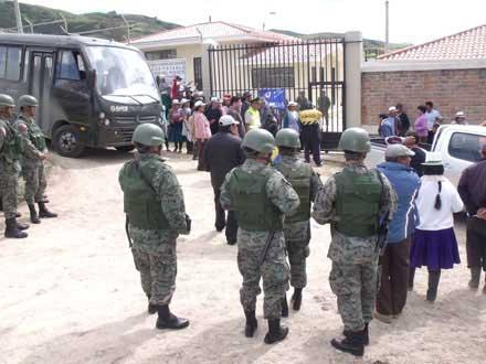 Militarizan planta de potabilización de las parroquias de Tarqui y Portete