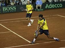 Ecuador cede un punto al perder en dobles en Copa Davis