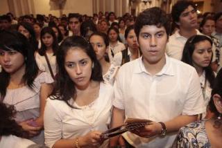 En Guayaquil, cerca de 1.500 jóvenes prometieron castidad